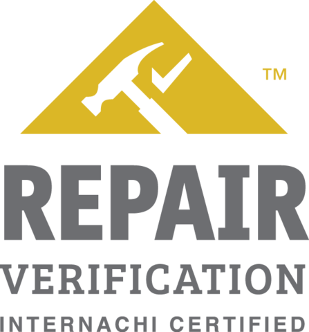 Westminster MD Repair Verification - InterNACHI Certified